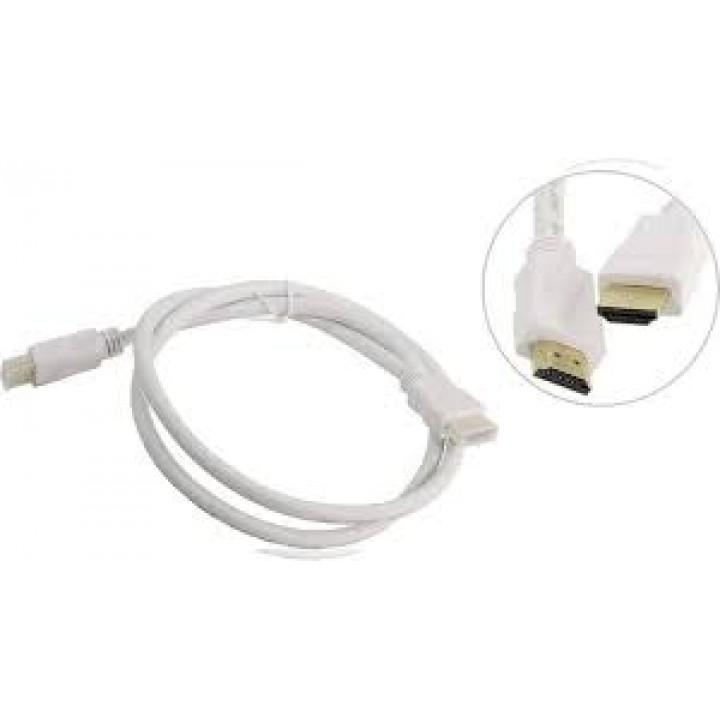 Кабель цифровой HDMI19M to HDMI19M, V1.4+3D, 1m, белый, TV-COM (CG150SW-1M)