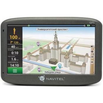"Навигатор Автомобильный GPS Navitel N500 5"" 480x272 4Gb microSDHC черный Navitel"