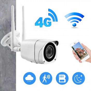 4G, ip-камера с sim-картой, 1080 P, 5 Мп, HD, беспроводная, Wi-Fi, наружная камера безопасности,