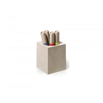 Подставка Durable 7742 для ручек и карандашей 75x90x75мм (70%лигнин) <7742>