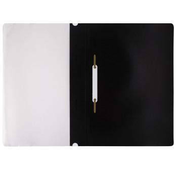 Папка-скоросшиватель BRAUBERG черный
