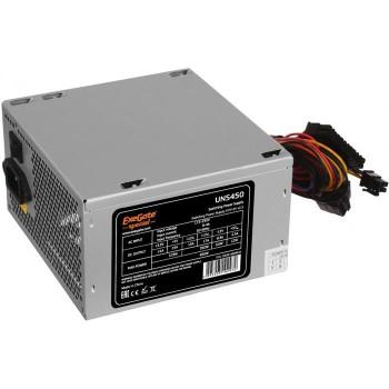 Блок питания EXEGATE ES261568RUS  450W Exegate Special UNS450, ATX, 12cm fan, 24p+4p, 6/8p PCI-E, 3*