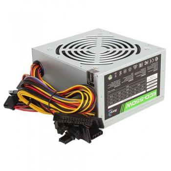 Блок питания Aerocool 550W Retail ECO-550W ATX v2.3 Haswell, fan 12cm, 400mm cable, power cord, 20+4