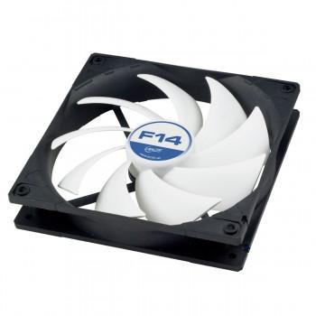 Вентилятор Arctic Cooling F14 Silent [ACFAN00076A] [140 x 140 мм, 3-pin, 220 об/мин - 800 об/мин, 9.