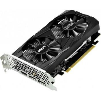 Видеокарта Palit PCI-E PA-GTX1650 DUAL 4G nVidia GeForce GTX 1650 4096Mb 128bit GDDR5 1485/8000/HDMI