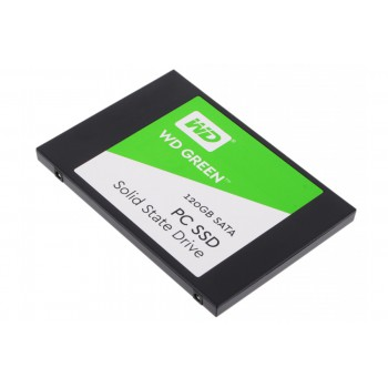 "Накопитель SSD WD Original SATA III 120Gb WDS120G2G0A WD Green 2.5"""