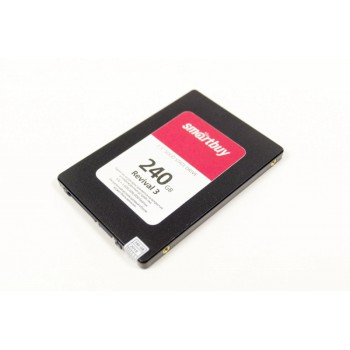 """Твердотельный накопитель SSD 2.5"""" 240GB Smartbuy Revival 3 (SATA3, 550/450Mbs, 3D TLC, PS3111-S11, 7"""