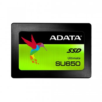 "Твердотельный диск 120GB A-DATA Ultimate SU650, 2.5"", SATA III, [R/W - 520/450 MB/s] 3D-NAND New Ret"