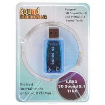 Звуковая карта C-Media USB TRUA3D (C-Media CM108) 2.0 Ret