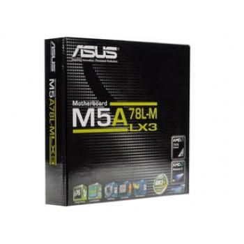 Материнская плата Asus M5A78L-M LX3 Soc-AM3+ AMD 760G 2xDDR3 mATX AC`97 8ch(7.1) GbLAN RAID RAID1 RA