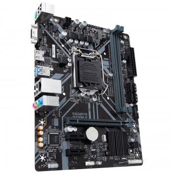 Материнская плата GIGABYTE H310M S2V 2.0, Socket 1151, Intel®H310, 2xDDR4-2666, D-SUB+DVI-D, 1xPCI-E
