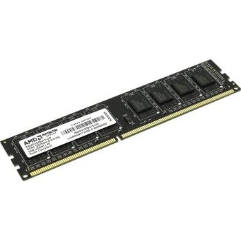 Память DDR3 AMD 4GB DDR3 1333 DIMM R3 Value Series Black R334G1339U1S-U Non-ECC, CL9, 1.5V, Retail