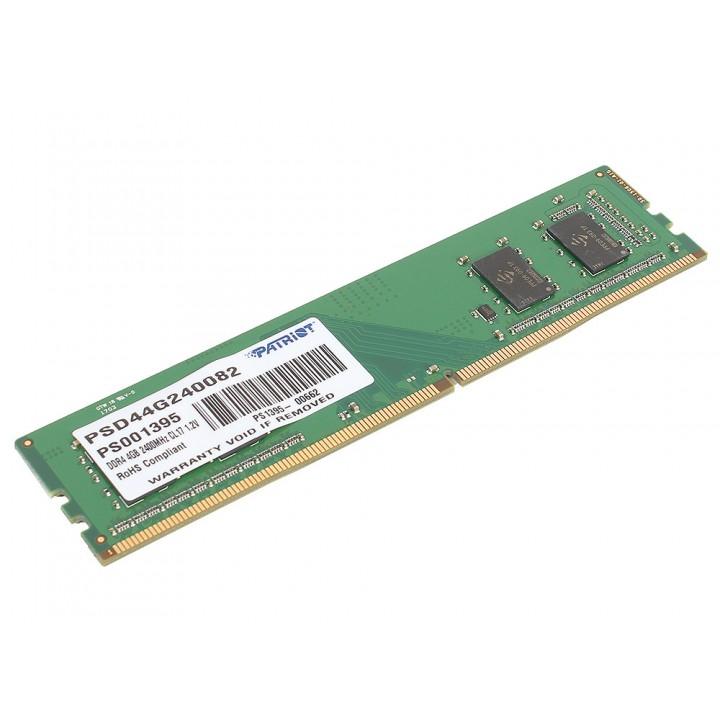 Память DDR4 PATRIOT 4Gb 2400MHz (PSD44G240082)