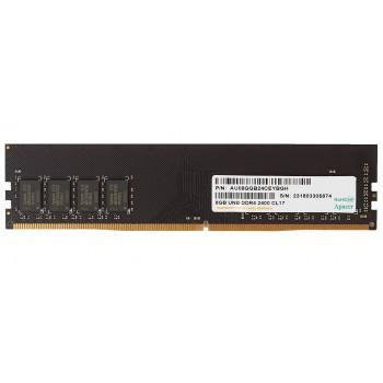 Память DDR4 Apacer 8Gb (pc-19200) 2400MHz Retail AU08GGB24CEYBGH/EL.08G2T.GFH