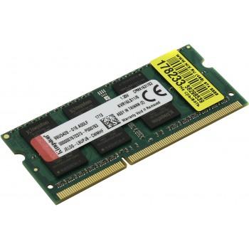 Память SO-DIMM DDR3 KINGSTON 4Gb 1600MHz KVR16LS11/4 RTL PC3-12800 CL11 204-pin 1.35В DDR3L
