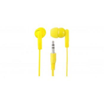 Наушники внутриканальные Perfeo c микрофоном HANDY желтые PF-HND-YLW