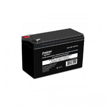 EXEGATE ES252436RUS Аккумуляторная батарея  Exegate Special EXS1270, 12В 7Ач, клеммы F2