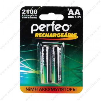 Аккумулятор Perfeo AA2100mAh/2BL (2шт)