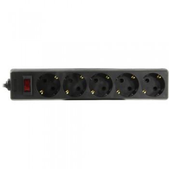 Сетевой фильтр Exegate SP-5-1.5B 5 розеток, 1.5м, евровилка, черный (EX266859RUS)