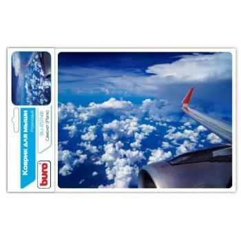 Коврик для мыши Buro BU-R51748 рисунок/самолет