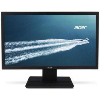 "Монитор Acer 19.5"" V206HQLAb черный TN+film LED 5ms 16:9 матовая 200cd 90гр/65гр 1600x900 D-Sub"