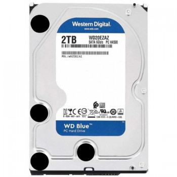 "HDD 3.5"" Western Digital 2.0Tb <WD20EZAZ> SATA3, 5400rpm, 256Mb (Blue)"