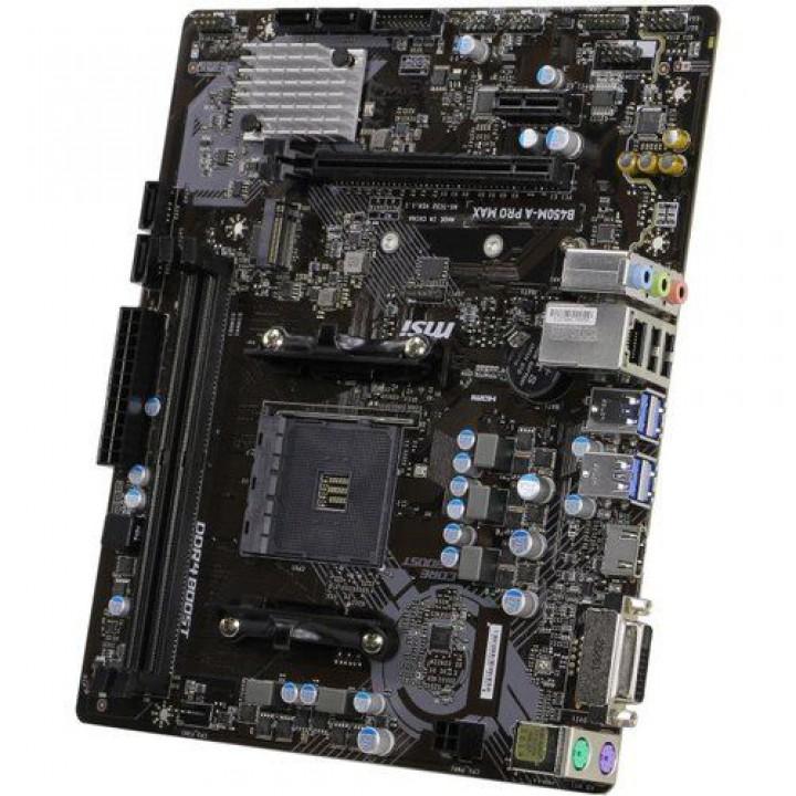 Материнская плата Gigabyte B450M H Soc-AM4 AMD B450 2xDDR4 mATX AC`97 8ch(7.1) GbLAN RAID+VGA+HDMI