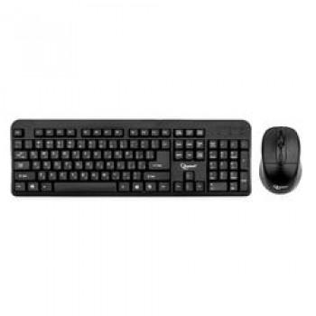 Клавиатура Keyboard Gembird KBS-7002 черный {Комплект кл-ра+мышь беспров., 2.4ГГц/10м, 1600DPI,  мин