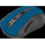 Беспроводная оптическая мышь Defender Accura MM-965 голубой, 6 кнопок, 800-1600dpi