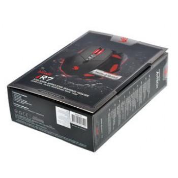 Мышь A4 Bloody R7/R70 черный оптическая (4000dpi) беспроводная USB2.0 игровая (7but)