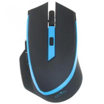 Мышь Oklick 630LW, черный/голубой 923003 {Мышь, Беспроводная, 500/1000/1600dpi, USB игровая