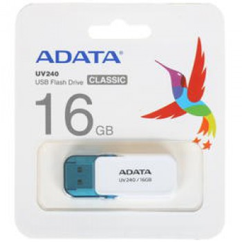 Флеш Диск 16GB A-DATA UV240 AUV240-16G-RRD {USB2.0, Red}