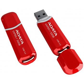 Флеш диск 32GB A-DATA UV150, USB 3.0, красный
