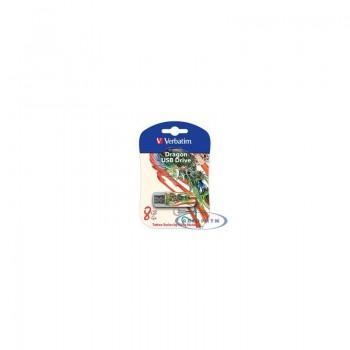 носитель информации Verbatim USB Drive 8Gb Mini Tattoo Edition Dragon 049884 {USB2.0}
