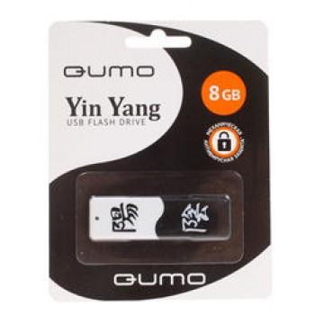 Носитель информации USB 2.0 QUMO 8GB ИНЬ & ЯНЬ QM8GUD-Y&Y