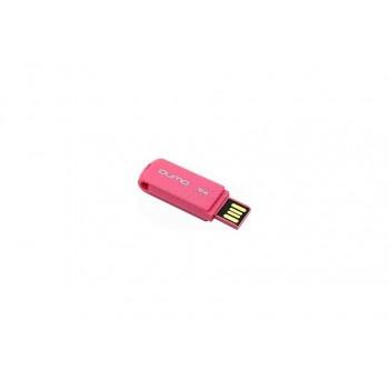 Носитель информации USB 2.0 QUMO 16GB Twist Cerise QM16GUD-TW-Cerise