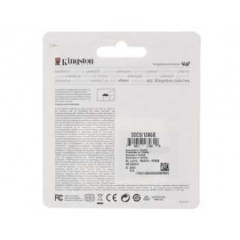 Флеш Карта MicroSD 128Gb Kingston Class10 SDCS/128GB + adapter