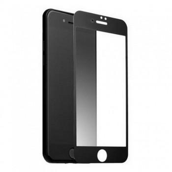 """Стекло на дисплей для iPhone 7/8 (4,7"""") (Gorilla Glass) 5D (черный)"""