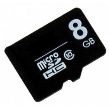 Флеш Карта MicroSD 8Gb QUMO QM8GMICSD10 {MicroSD Class 10, SD adapter}