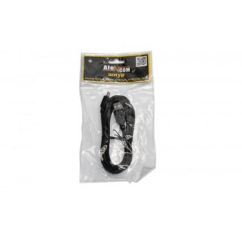 Шнур Alencom (AC-USB-055B) USBA/M-mini USB5PM(1.8m)