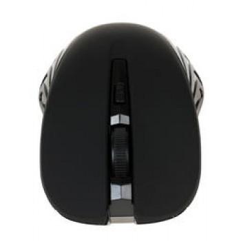 Мышь Oklick 545MW черный/синий оптическая (1600dpi) беспроводная USB (3but)