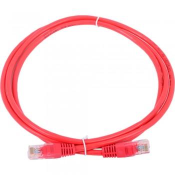 Патч-корд Exegate EX258673RUS UTP кат. 5e, 1м Exegate красный