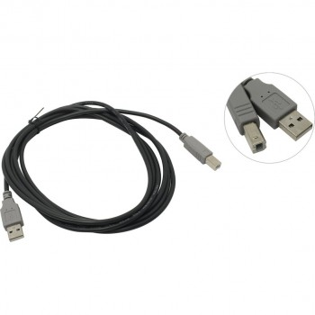 Кабель 5bites UC5010-030C USB2.0, AM/BM, 3 м.